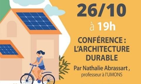 Conférence Cittaslow sur l'architecture durable