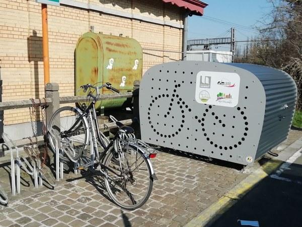 Abri à vélos